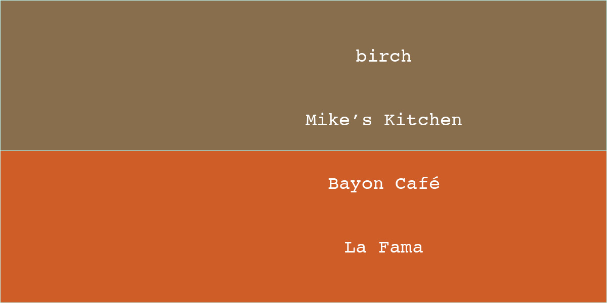 March Restaurant Madness Day 13