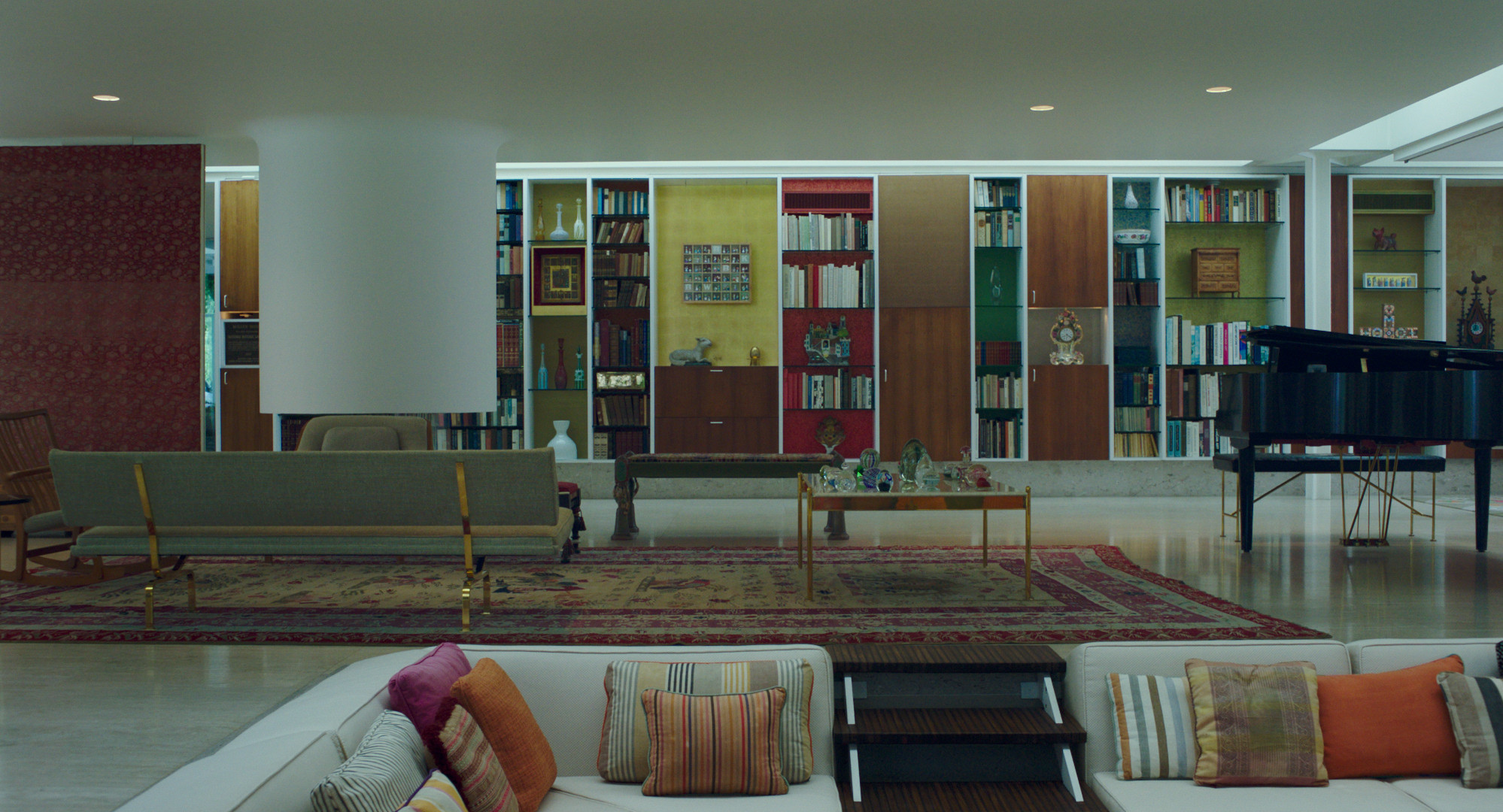 Columbus (movie), Eero Saarinen house
