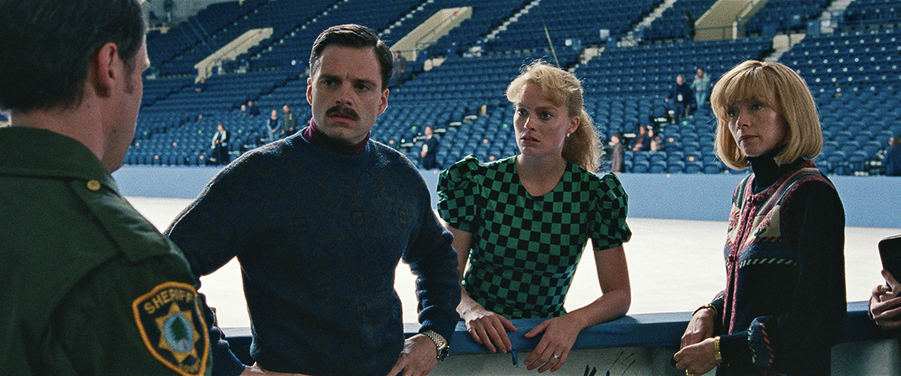 Sebastian Stan, Margot Robbie and Allison Janney in I Tonya