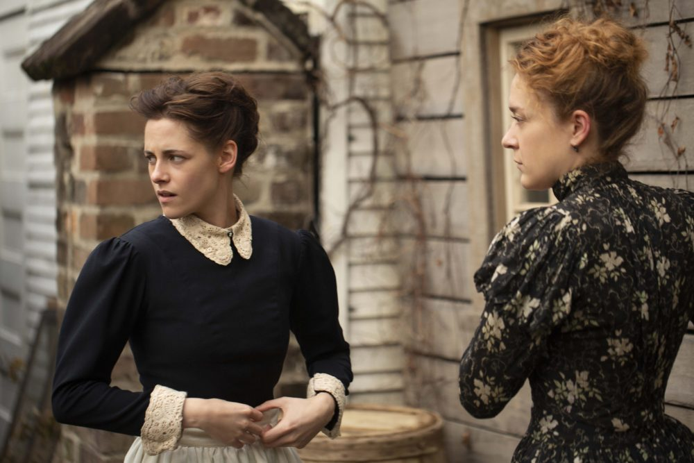 Kristen Stewart and Chloe Sevigny in Lizzie