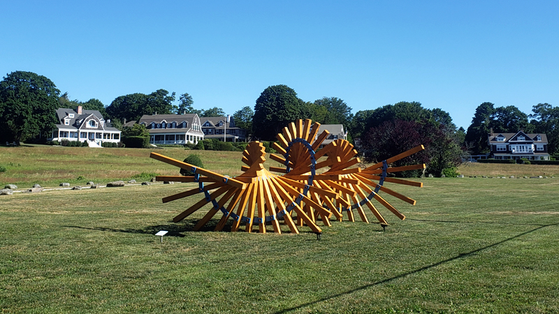 James Payne, Isolation (2020) at Shoreby Hill in Jamestown, RI